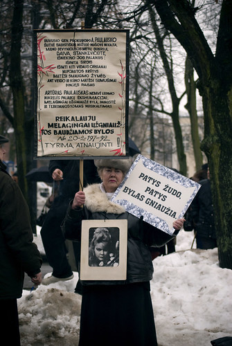 Protest in Kaunas