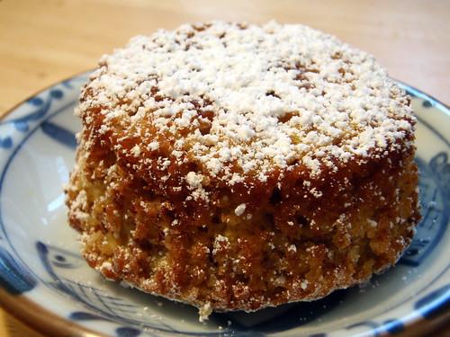 Clementine cupcake