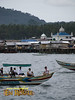 View of a mosque, Stilt houses at Jolo Port, Sulu