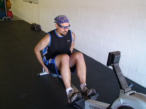 Rowing at CrossFit