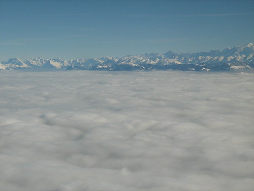 Alps from the sky!