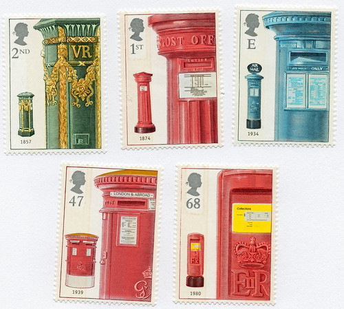 Royale English Postale Stamps