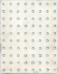 Pegboard Stencil (sarcoptiform) Tags: art rock pencil painting bristol tile grid ross hole drawing circles board file row holes marks cardboard alexander dots scrap template tool spacer ordered pegboard prog objetdart alexanderross