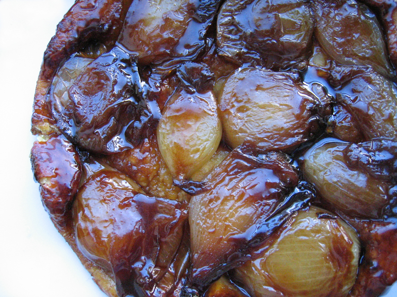 French Shallot Tart Tatin