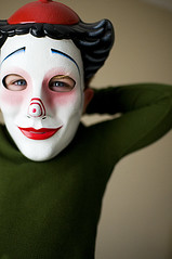 Clown Face (autumn fawn) Tags: four bowie mask