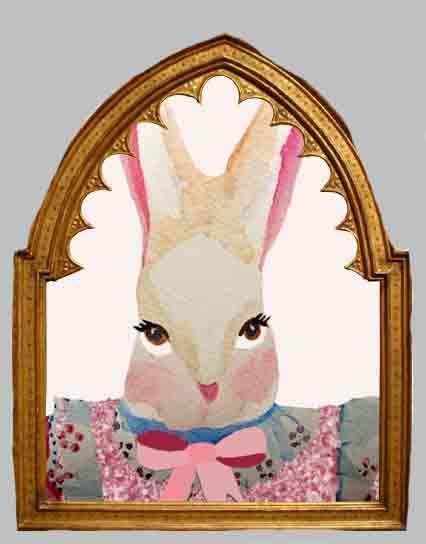 alice-miss-bunny-inmirror