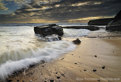 Hidden Beach Sunset - Santa Cruz, California (Jim Patterson Photography) Tags: ocean california ca longexposure sunset sea santacruz seascape beach clouds landscape coast rocks waves pacific shoreline shelf coastal shore lowtide intertidal hiddenbeach shelves crepuscular majors sevenmilebeach santacruzcounty pantherbeach rockyshore landscapephotography oceanscape lagunard nikond300 tokina1116mm holeinthewallbeach beneathblueseas beneathblueseascom jimpattersonphotography jimpattersonphotographycom seatosummitworkshops seatosummitworkshopscom
