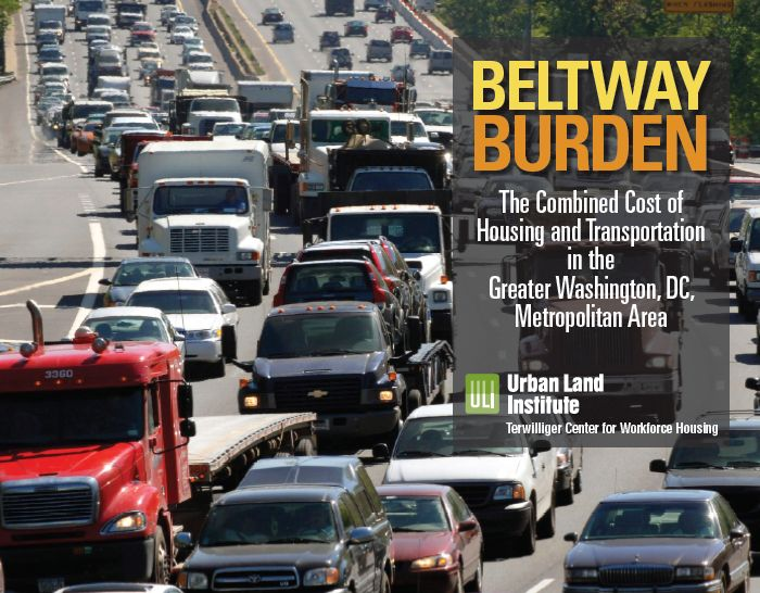 Cover of Beltway Burden: The Combined Cost of Housing and Transportation in the Greater Washington, D.C. Metropolitan Area