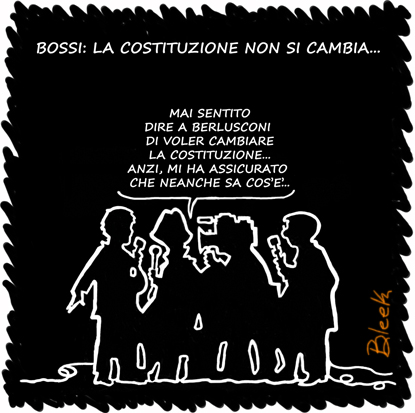 Bossi Berlusconi Costituzione