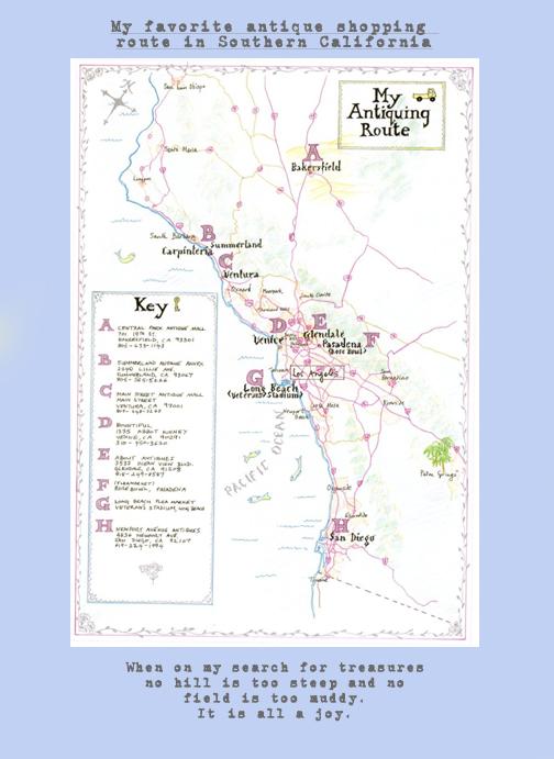 Map of Fleamarket copy