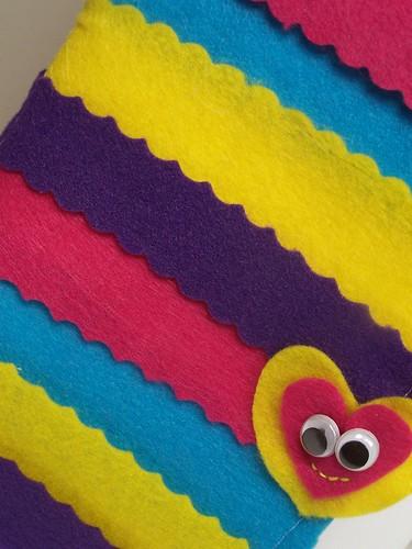 'Color Me Happy' Rainbow Scrapbook