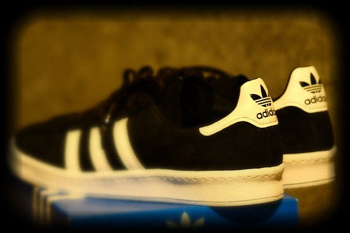 adidas campus 80's BLACK / WHITE