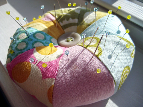 Pincushion from Last Minute Patchwork and Quilted Gifts