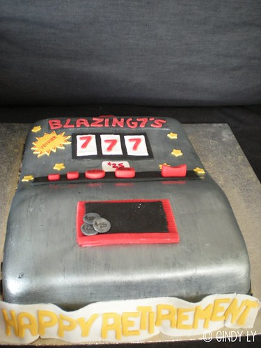 Slot Machine Cake by Cindy's Epic Cakes