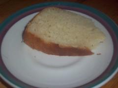 A slice of sweetness in bread form