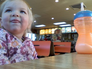 @DQ @dairyqueen with Eva