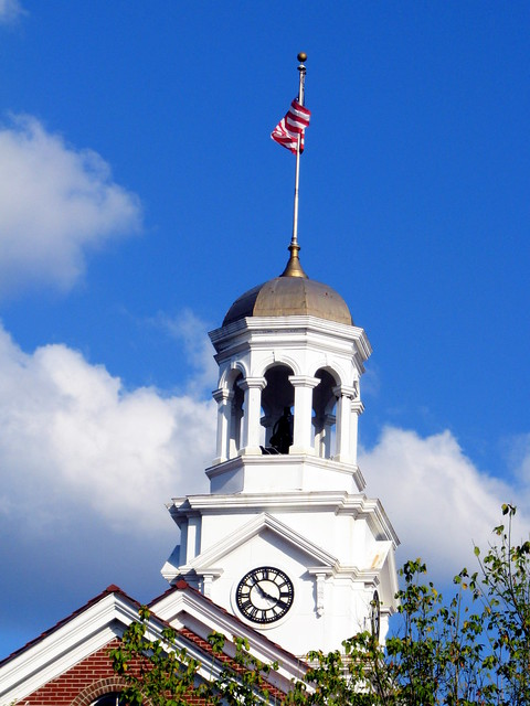 Cannon Co. Courthouse cupola/clock tower
