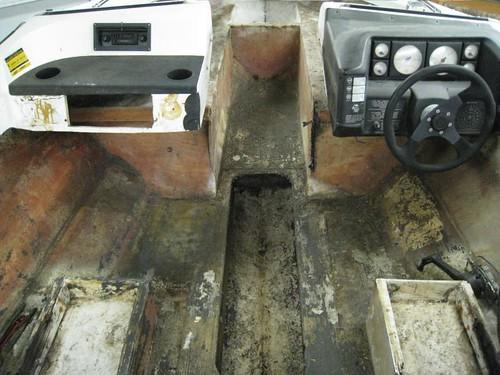 1990 Bayliner Capri 2050 Br Deck Stringers Transom