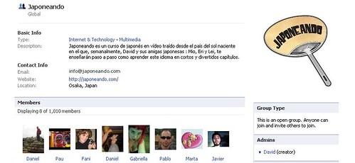 Grupo Japoneando Facebook
