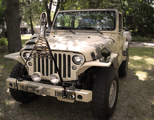 My Military Style Jeep In The Snow Jeepforum Com