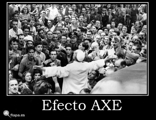 efecto axe