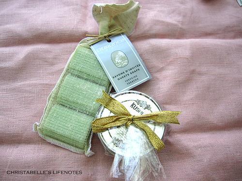kusmitea茶與durance皂
