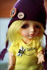 Boo <3 (baroqueboudoir) Tags: cute canon doll dolls boo tiny lea bjd abjd muecas 1740l balljointeddoll latidoll canon1740l lati 40d asianballjointeddoll tinydoll canon40d leatan