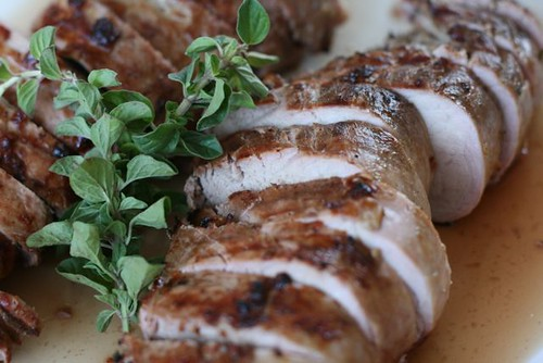 Herb-Marinated Pork Tenderloin