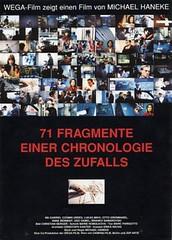 71 Fragmentos de una cronología del azar
