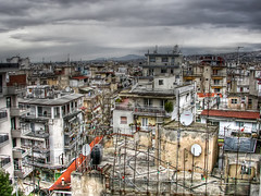 Rooftops (Faddoush) Tags: city nikon cityscape rooftops hellas greece macedonia thessaloniki hdr antenna salonica makedonia   faddoush