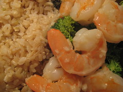 Lemon Garlic Shrimp with Broccoli