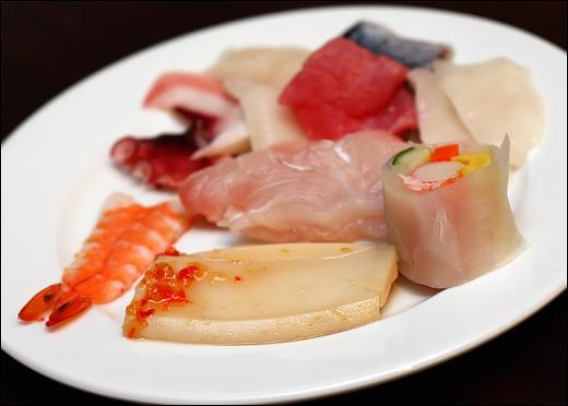 ebi-sushi-abalone-sashimi