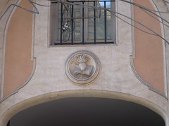 Religious door lintel (celesteh) Tags: italy rome eu september eruope 2008 celesteh