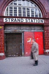 Aldwych Station, London. (LiamCH) Tags: uk england london abandoned strand underground lift metro railway aldwych disused londonunderground embankment londontransport tfl undergroundrailway disusedrailway transportforlondon elavator abandonedrailway disusedstation abandonedstation