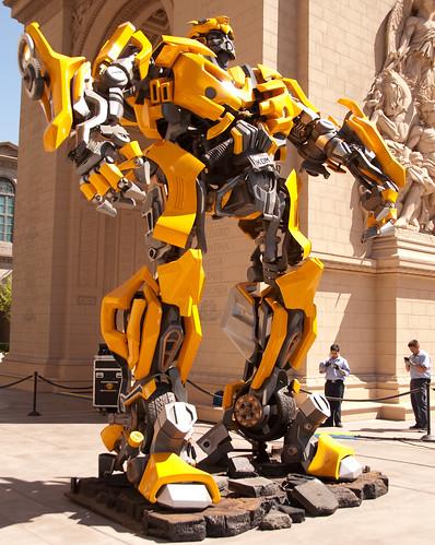 Bumblebee Arco del Triunfo Las Vegas