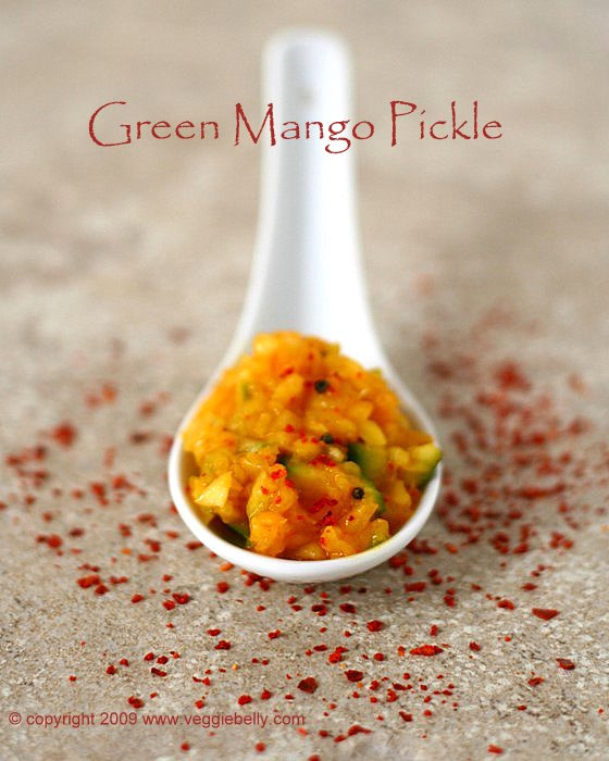 Green (raw) Mango Pickle