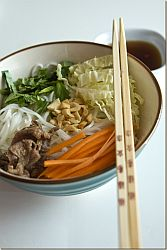 Vietnamese Beef and Noodle Bowl