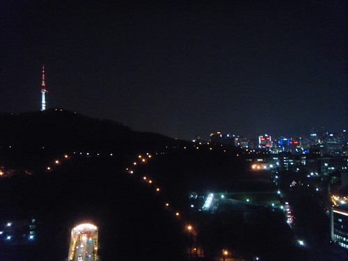 Room view from The Shilla Seoul