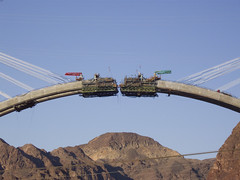 Hoover Dam Bypass Bridge Construction 3