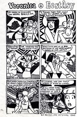 Veronica in EcstAcy (Arpad Okay) Tags: bill truth comic betty veronica archie bem psychedelic copacetic boichel