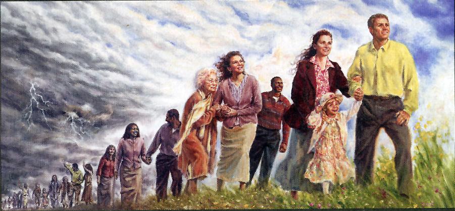 Fin del mundo, según los testigos de Jehová.