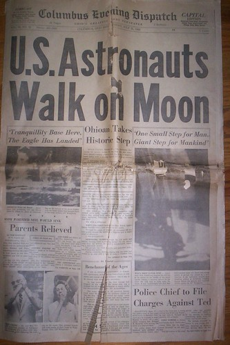Columbus Evening Dispatch, 7/21/69 (click to enlarge)