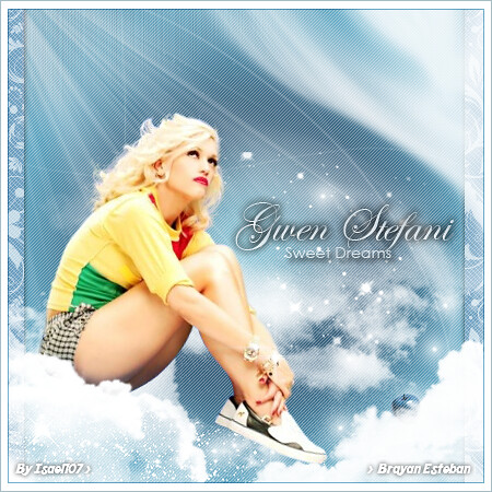 25. Gwen Stefani ° Sweet Dreams [Brayan Esteban] by Isael107
