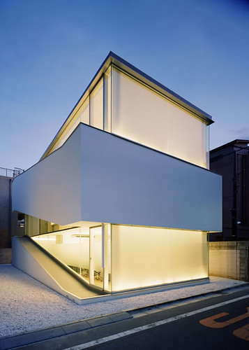 C-1 House – A Minimalist House in Tokyo, Japan