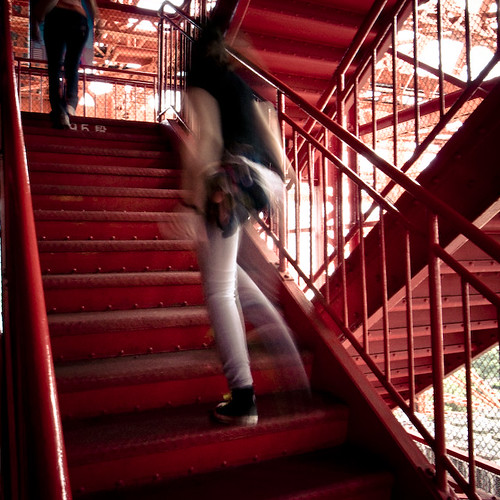 Up the Stairs, Tokyo Tower, Step 95