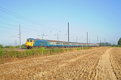 Train Chartering - UK intercity train for charter / hire, , with electric locomotive