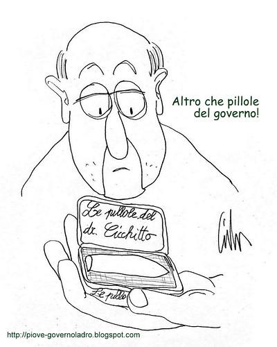 Le pillole del dr. Cicchitto