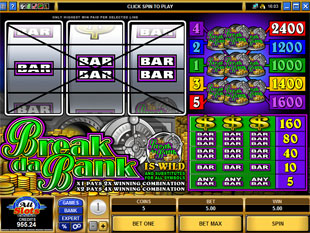 Break da Bank slot game online review