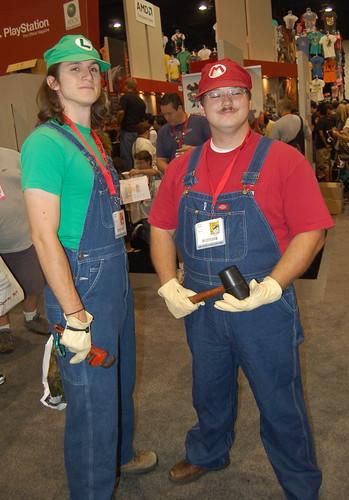 Comic Con 09: The Plumbers