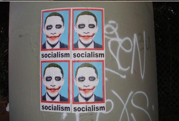 poster Obama joker